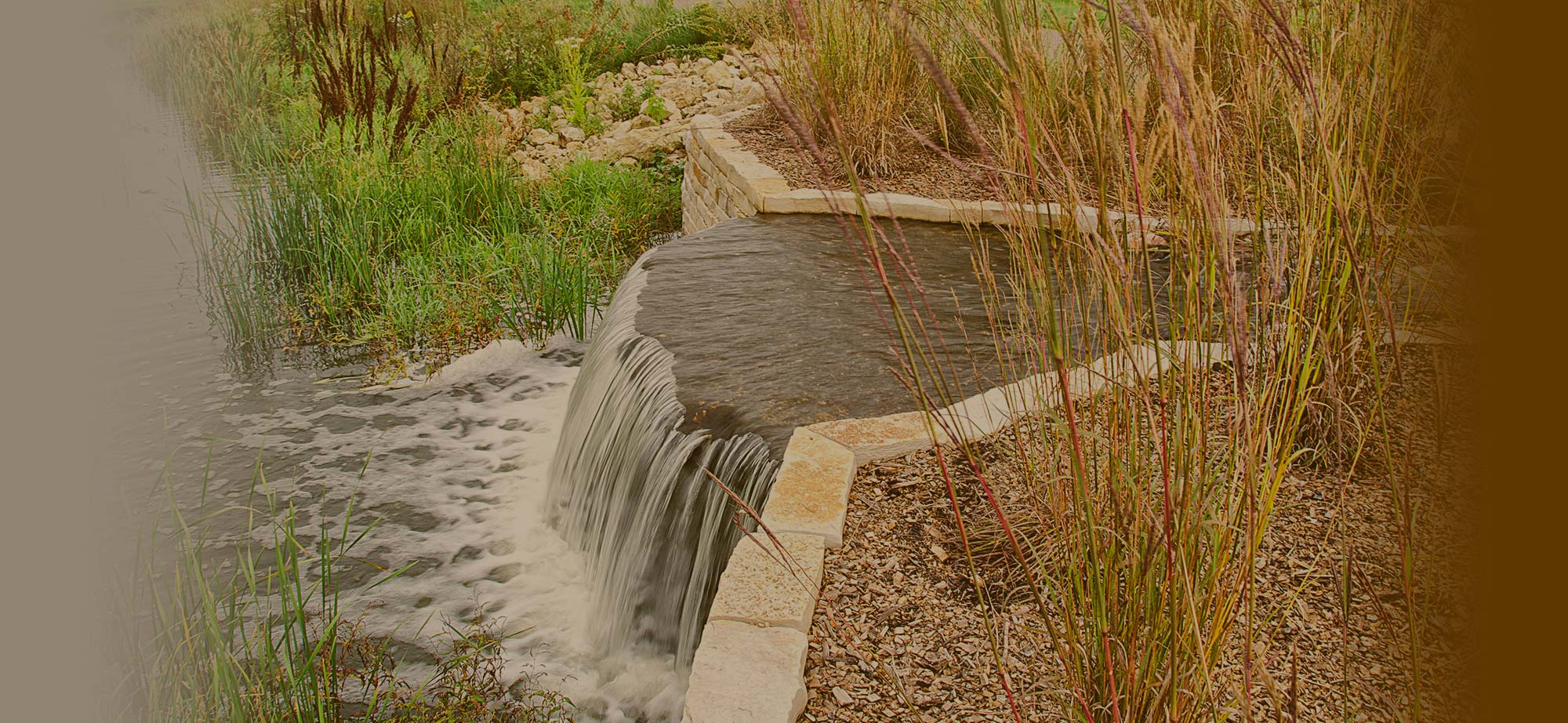 Stormwater Reuse water feature