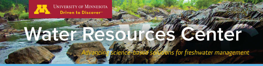 Minnesota Water Resources Conference banner