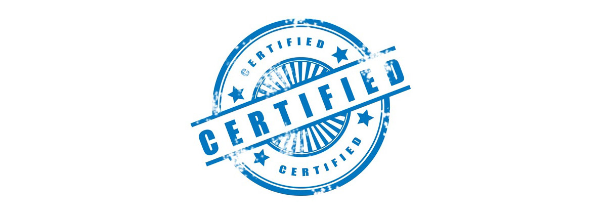 stamp of certified